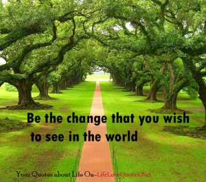 Be-the-change-that-you-wish-to-see-the-world